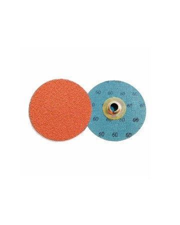 "Standard Abrasives  Quick Change Laminated Discs A/O 2 PLY  2"" Inch - 60 Grit"