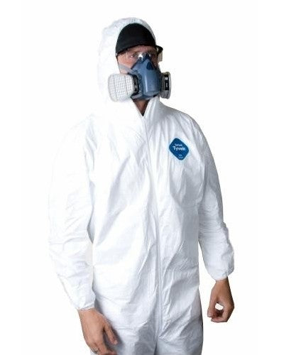 TYVEK Jumpsuit Large - With Hood