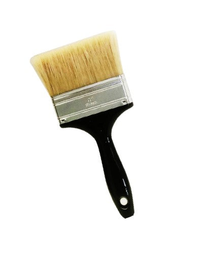 "4"" Plastic Handle GlassKoter Brush"