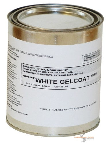 HK LHM Marine White Gel Coat -1 Quart