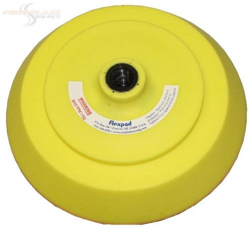 FlexPad Sanding Pad 8 inch Soft Density- All Yellow