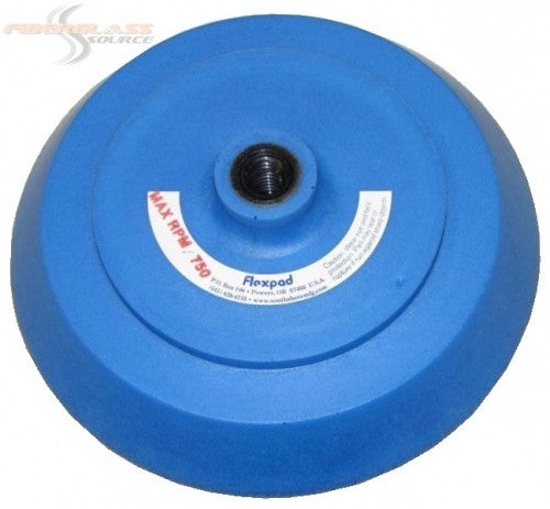 FlexPad Sanding Pad 8 inch Softie Density - Blue