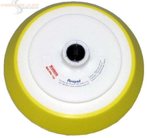 FlexPad Sanding Pad 8 inch Soft Density- Yellow/White