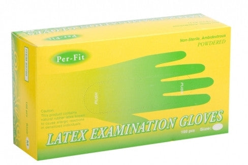Box Latex Gloves-XL- Box/100 QTY