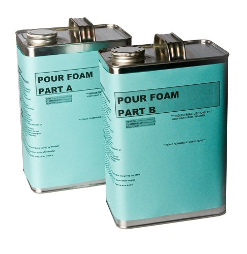 Pour Foam (1 Gal Part A/1 Gal Part B) 4# Density
