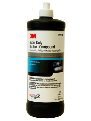 3M 05954 Super Duty Rubbing Compound- 32oz