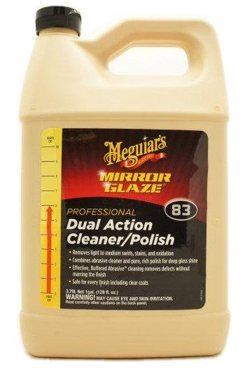 Meguiars #83 Dual Action Cleaner/Polish - 1 Gallon Jug