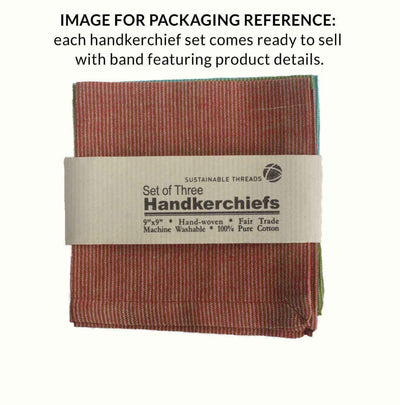 CAMBRIDGE Handkerchief (Set of 3)