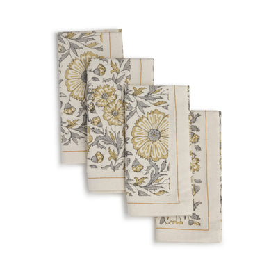 Zinnia Napkin (set of 4)