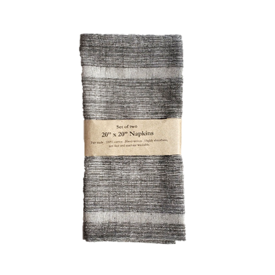 SLATE GREY Napkin (set of 2)