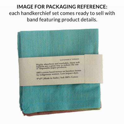 WELLINGTON Handkerchief (Set of 3)