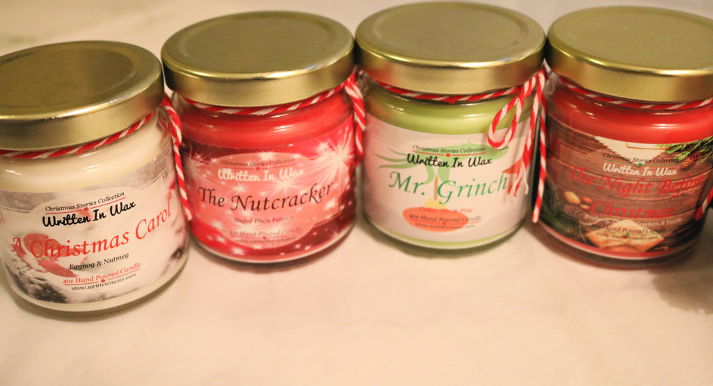 Christmas Stories 4oz Candle Set