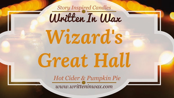 Wizard's Great Hall Candle