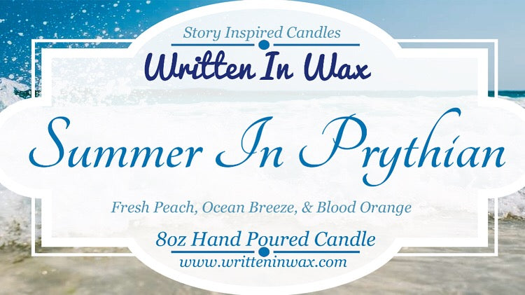 Summer In Prythian Candle
