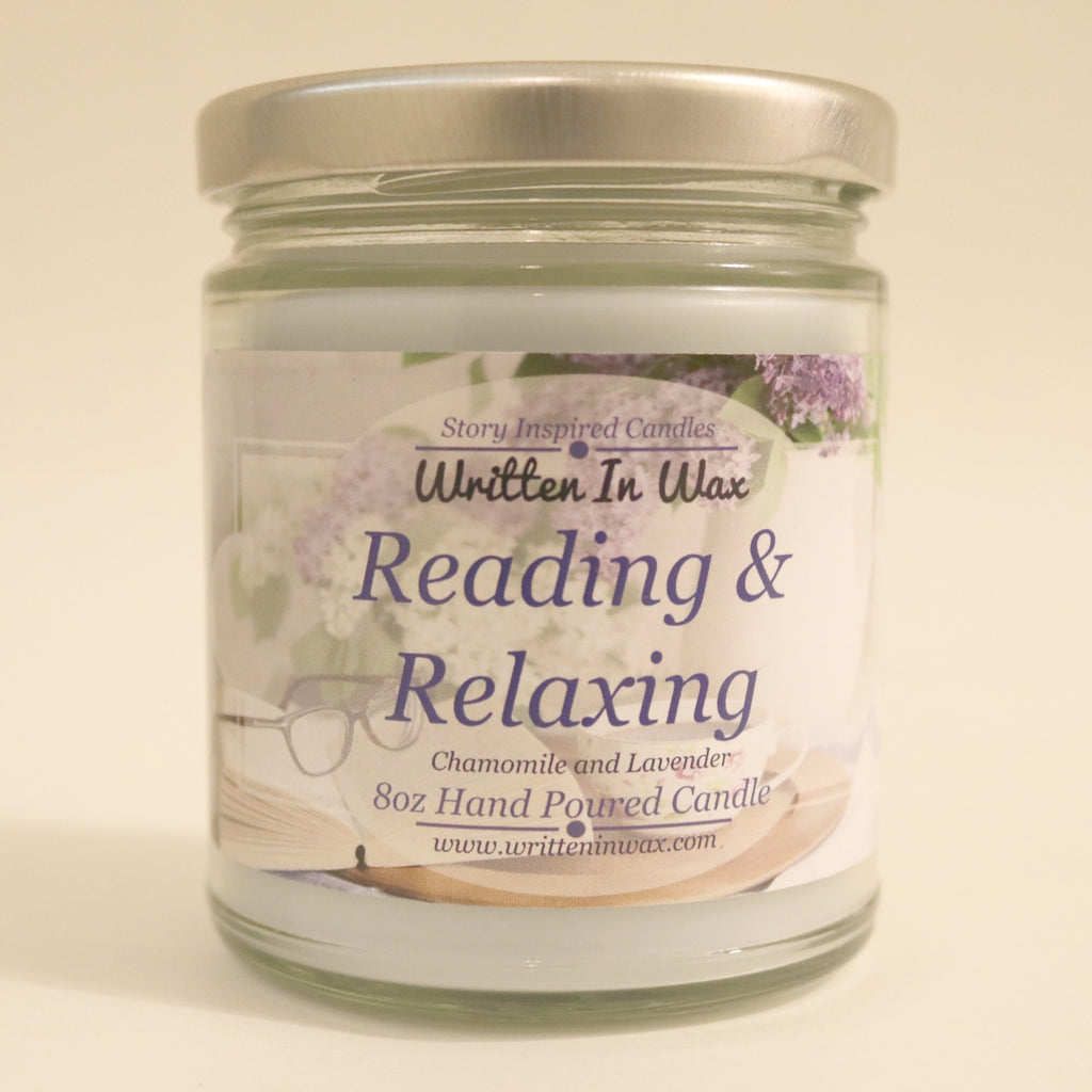 Reading & Relaxing Candle