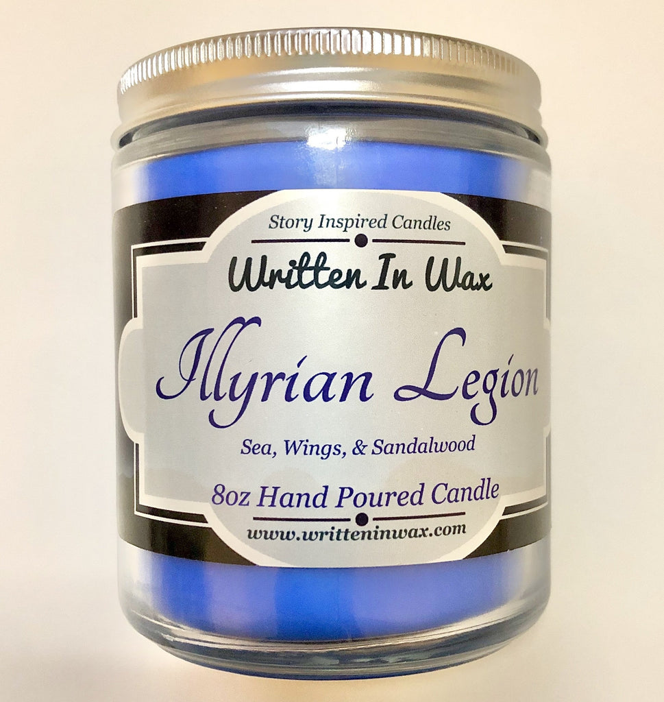 Illyrian Legion Candle