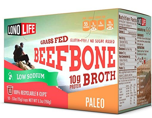 LonoLife Low Sodium Bone Broth Is Here! (only 95 mg salt per serving)