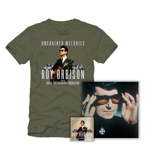 "CD + T-Shirt + Numbered Limited Edition 12"" x 12"" Print"