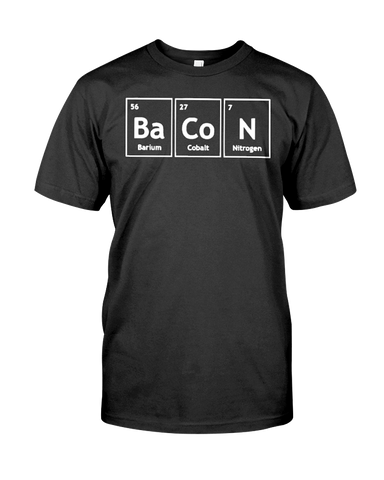 Bacon Periodic Men's T-Shirt | Funny Shirt