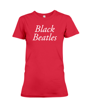 Black Beatles Women's T-Shirt