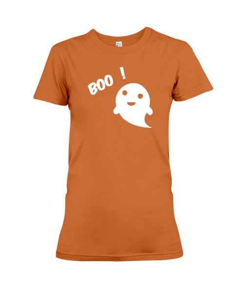Boo Women's T-Shirt | Halloween Shirt