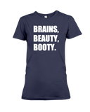 Brains Beauty Booty Women's T-Shirt