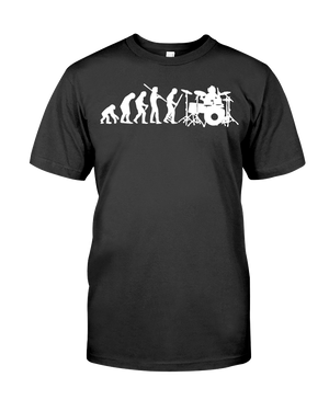 Evolution Of Drummer Men's T-Shirt