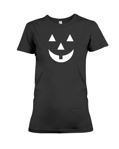 Pumpkin Face Women's T-Shirt | Halloween Shirt