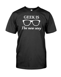 Geek Is The New Sexy Men's T-Shirt - Feels 22