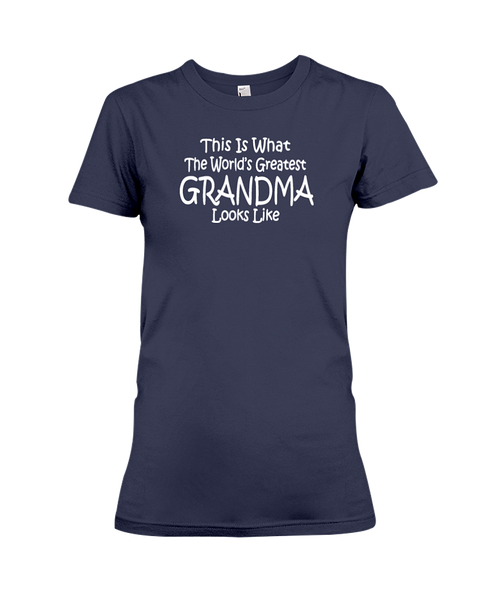 The World's Greatest Grandma Women's T-Shirt