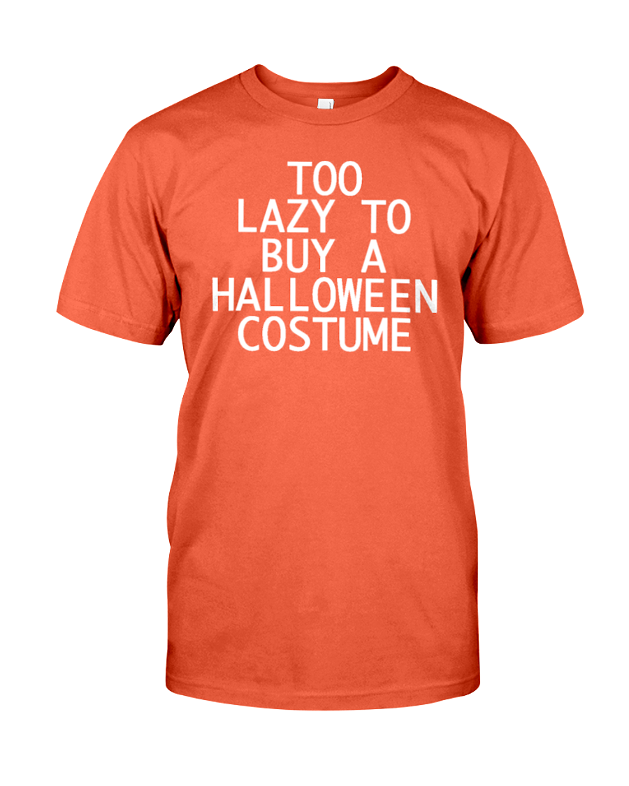 Too Lazy To Buy A Halloween Costume Men's T-Shirt | Halloween Shirt