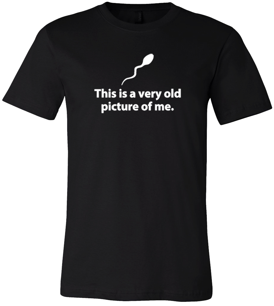 This Is A Very Old Picture Of Me T-Shirt