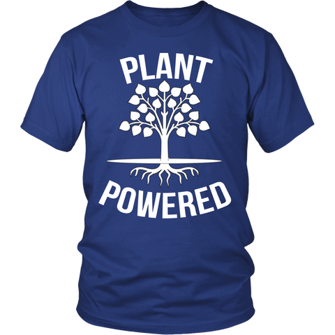 Plant Powered T-Shirt | Vegan Lifestyle Shirts