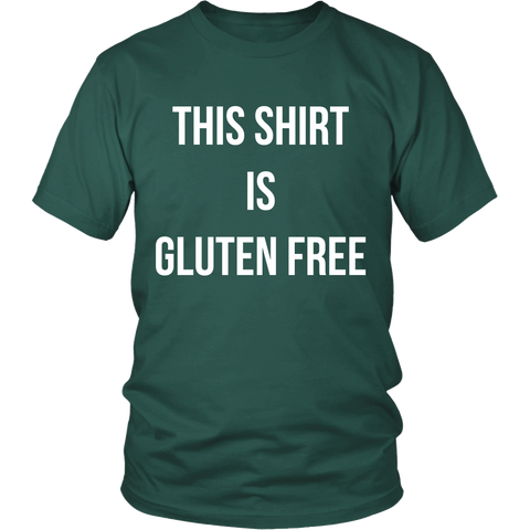 This Shirt Is Gluten Free T-Shirt | Vegan Lifestyle Shirts