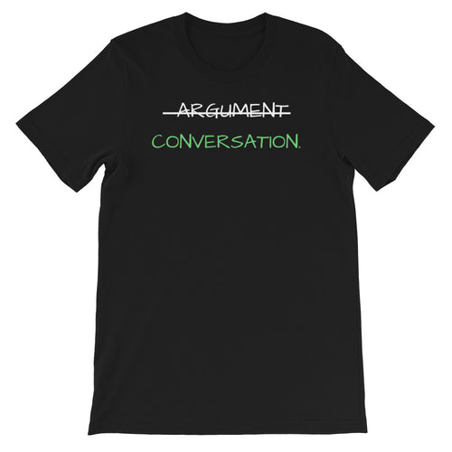 Argument Conversation Short-Sleeve Unisex T-Shirt