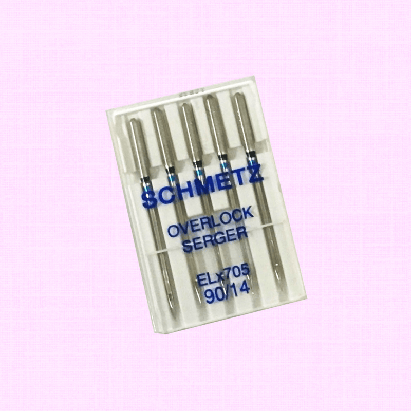8-thread Serger Needle size 90/14 #90/14 Schmetz Overlock Serger Needle ELx705 90/14