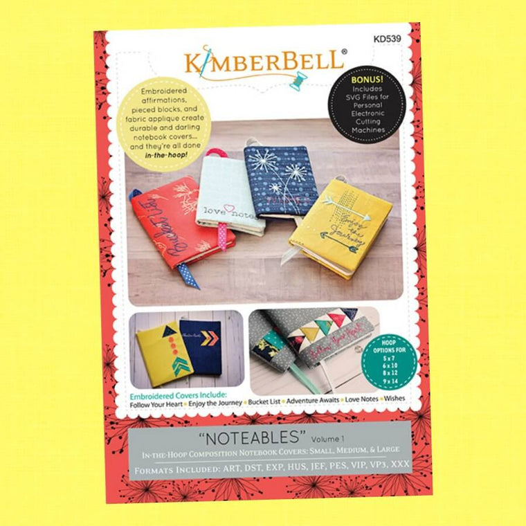 Noteables Volume 1 by Kimberbell