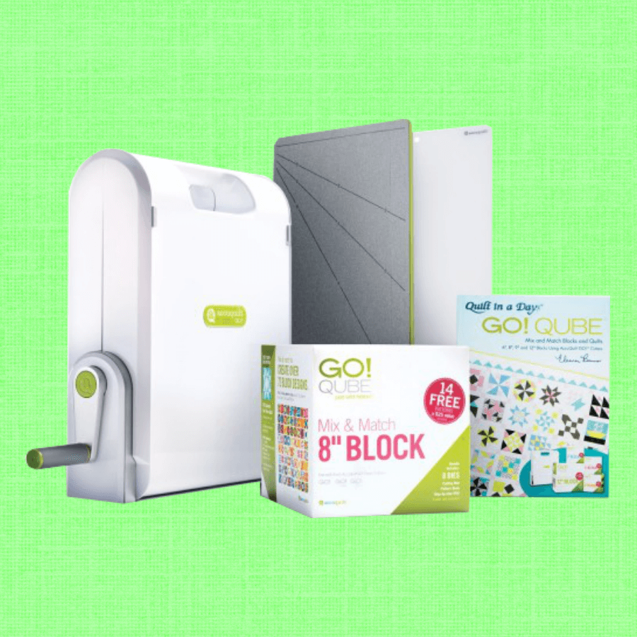 Ready. Set. GO! Ultimate Fabric Cutting System (55700) by Accuquilt