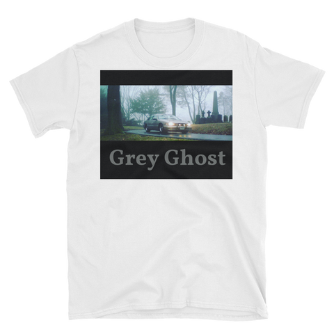 Grey Ghost Short-Sleeve Unisex T-Shirt-vagabond clothing company-vagabond clothing company