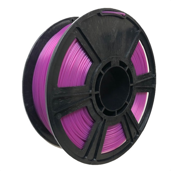 Crystal Series PLA Filament - 1.75mm - Translucent Violet - 1KG