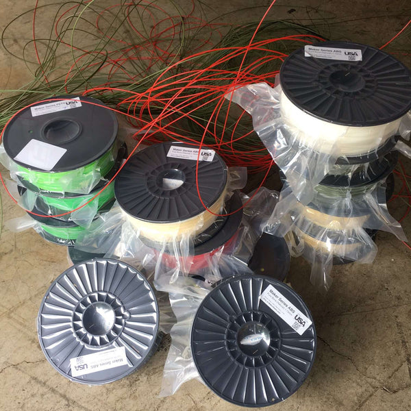 Transitional 3D Printer Filament Spools - Grab Bag 1.75mm