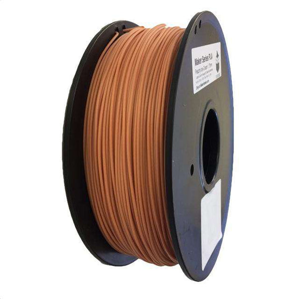Maker PLA Filament - 1.75mm - Peach Ice Cream (Skin Tone Color) 1kg