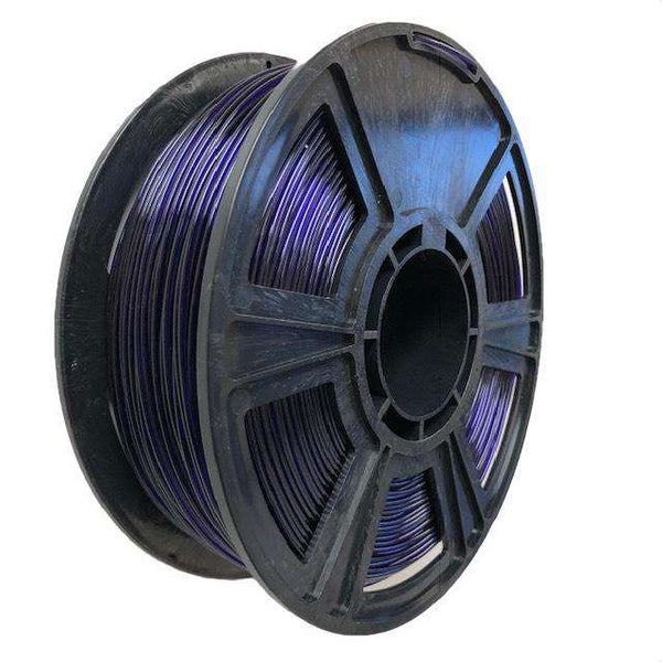 Crystal Series PLA Filament - 1.75mm - Translucent Purple - 1KG