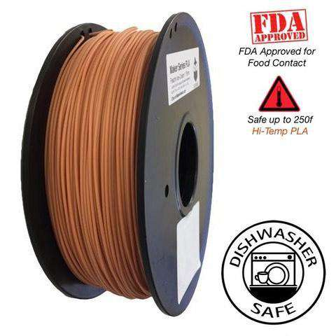 HTPLA Raptor - High Performance PLA 3D Filament - HD Flesh / Skin Tone  -  1.75mm  -  1KG