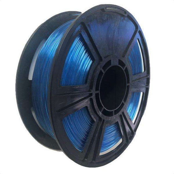 Crystal Series PLA Filament - 1.75mm - Translucent Blue - 1KG
