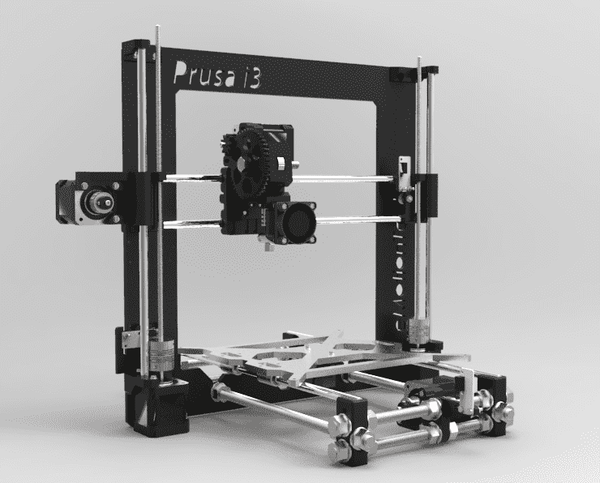 Prusa Mendel i3 Rework Kit (Printed Parts Only)