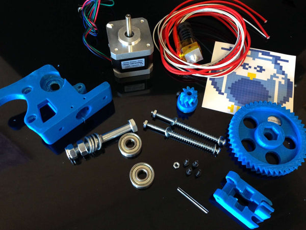 Wade Extruder Reloaded Full Kit (ready to print)