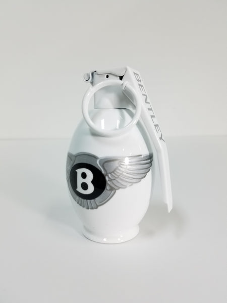Bentley White Art Grenade
