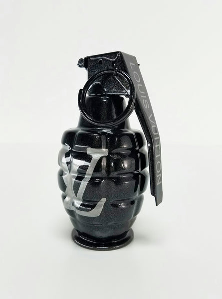 Louis Vuitton Graphite Grey Art Grenade
