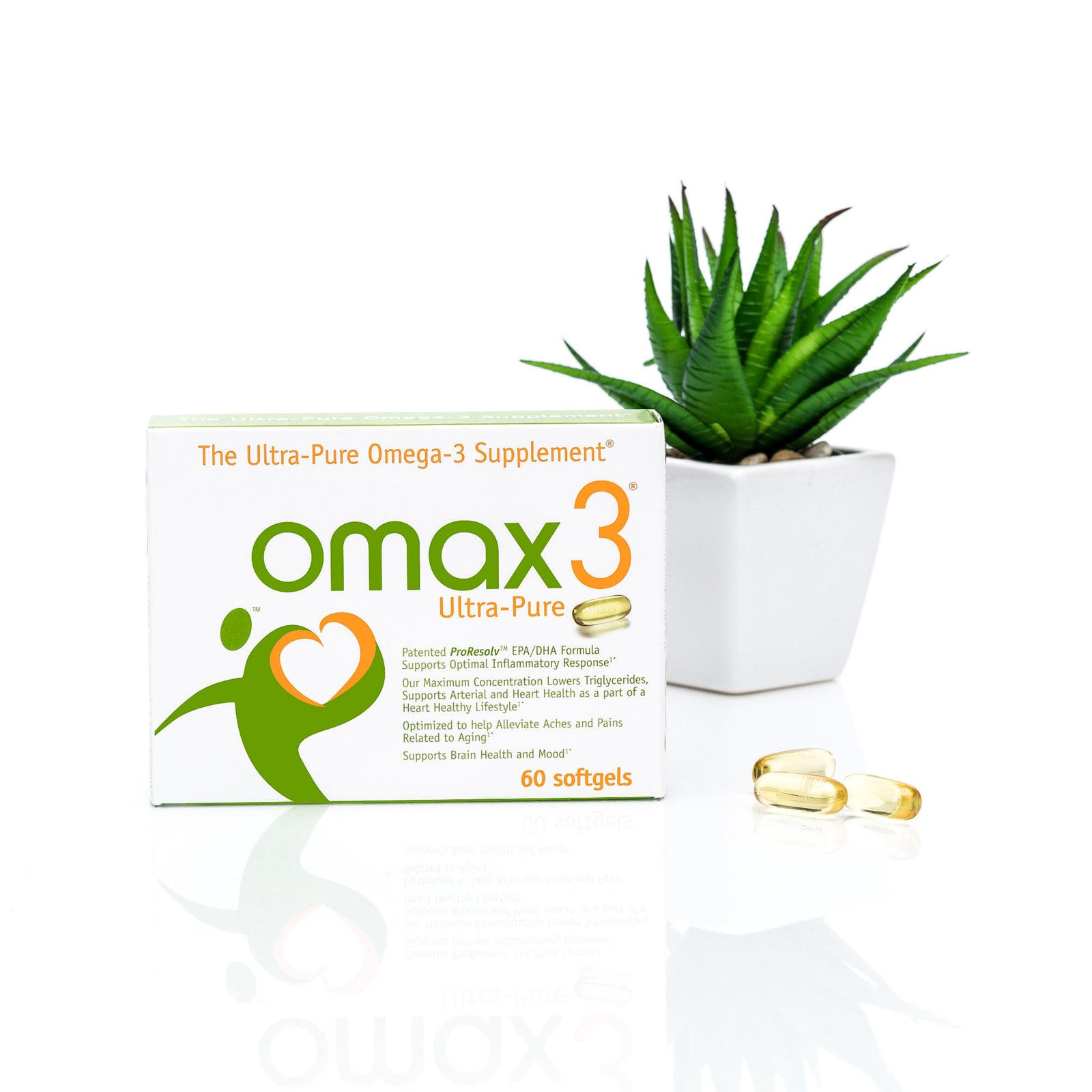 Omax3 Ultra-Pure Omega-3 with softgels